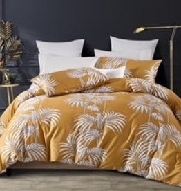 Daniadown Duvet Set Daniadown Palms King w / Pillow Cases