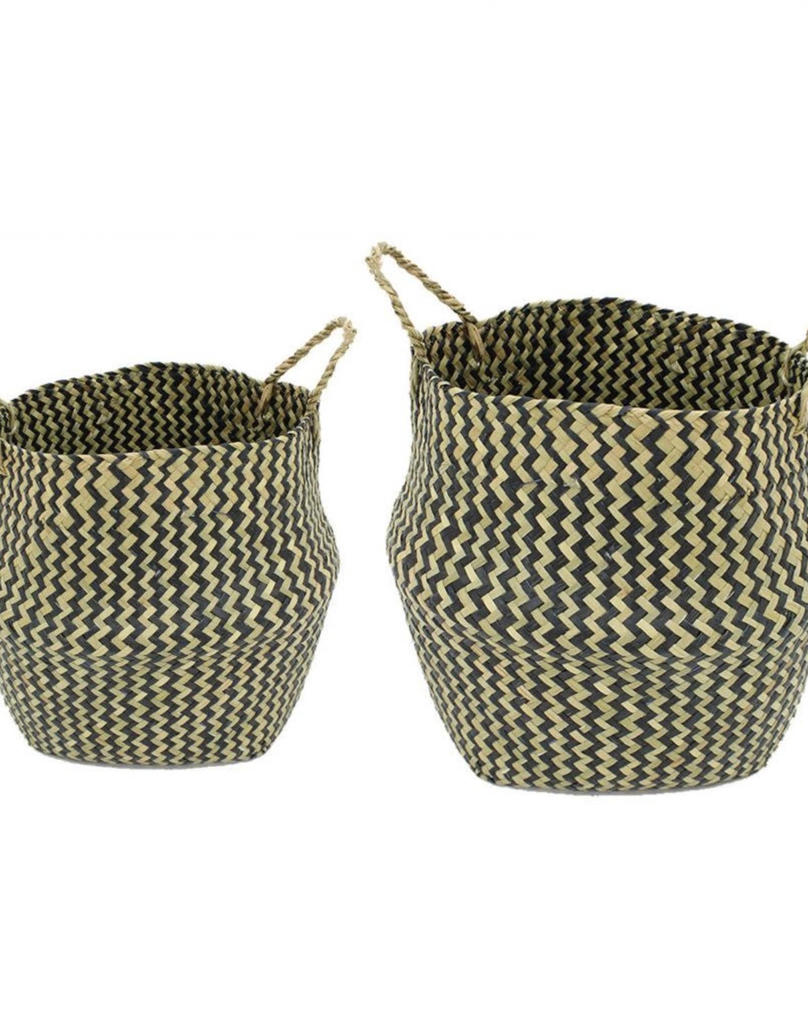Cathay Basket Cathay Belly Black & Natural