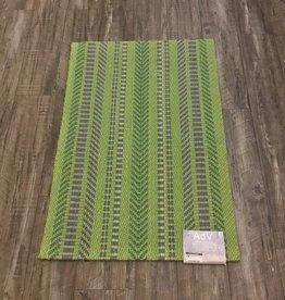 Rugs ADV Jute Green Dark Grey 2 x 3