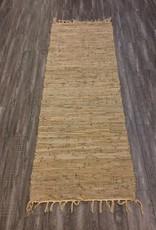 Rugs CBK Chindi Leather Beige Runner 2 x 5'11