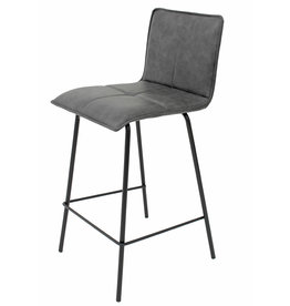 Cathay Cathay Anaelle Counterstool  1-1990 Grey