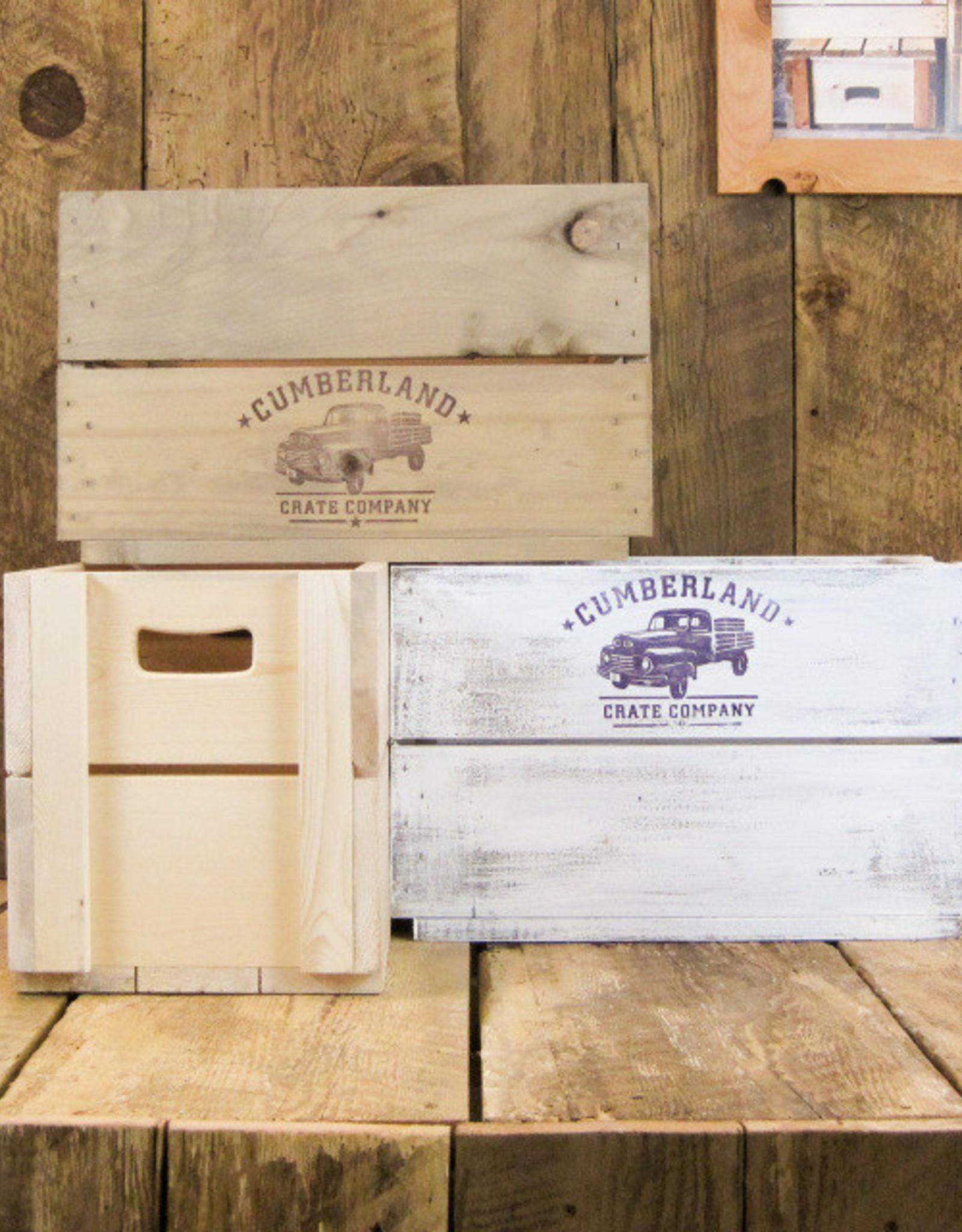Cumberland Crates Cumberland Crates Funk JR Vintage White