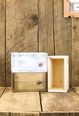Cumberland Crates Cumberland Crates Pretty Paola Vintage White