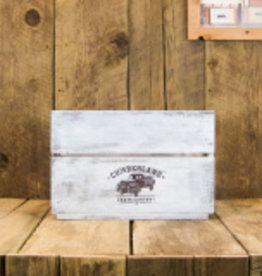 Cumberland Crates Cumberland Crates Old Funk Vintage White