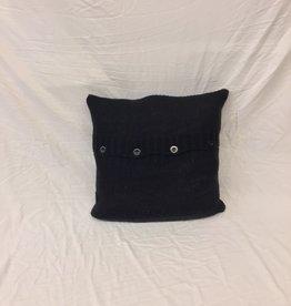 Cushions Bovi Knit Buttons Black