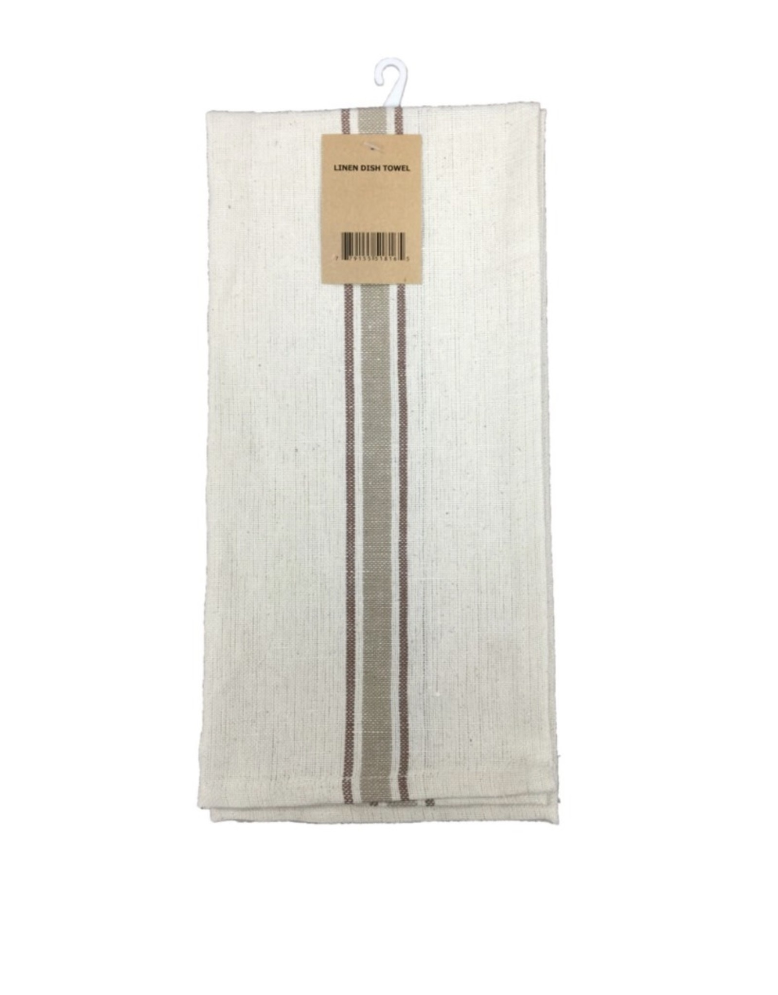 Fab Styles Dish Towel Linen Stripe