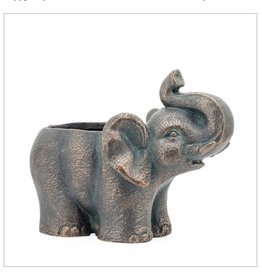 Planter Indoor/Outdoor Elephant12.5""