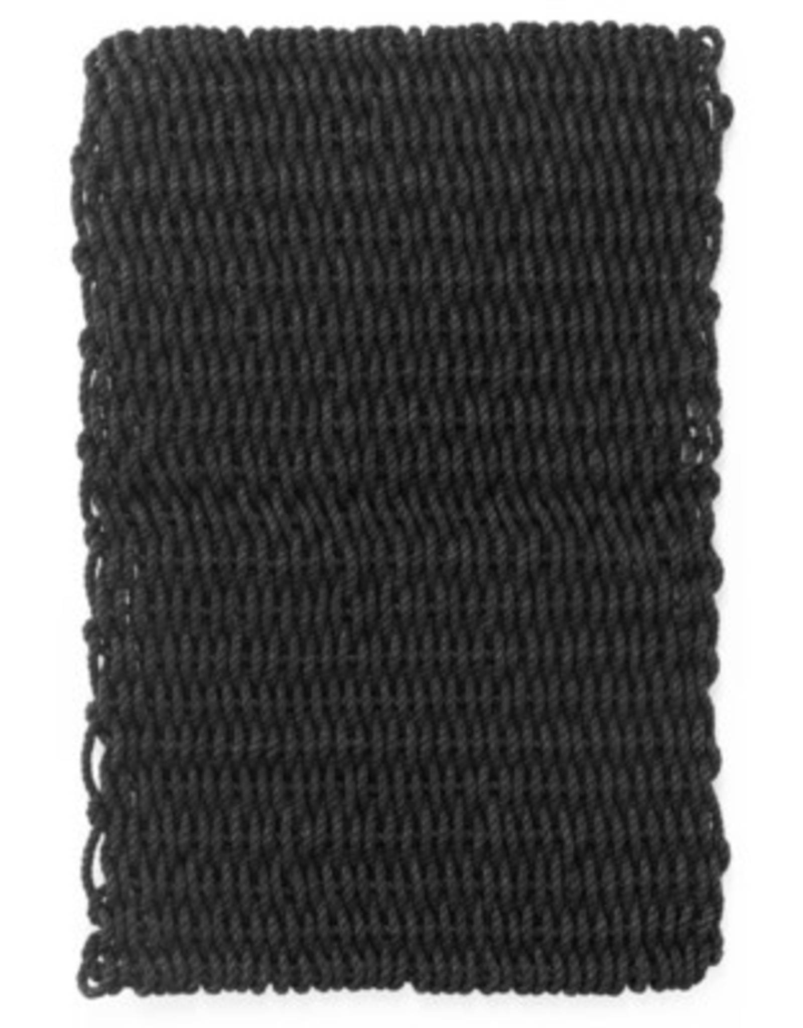 Rugs Outdoor PE Rope Black 48 x 24
