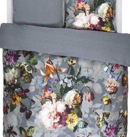 Intermark Duvet Set Intermark Fleur Faded Grey/Blue Queen w / shams