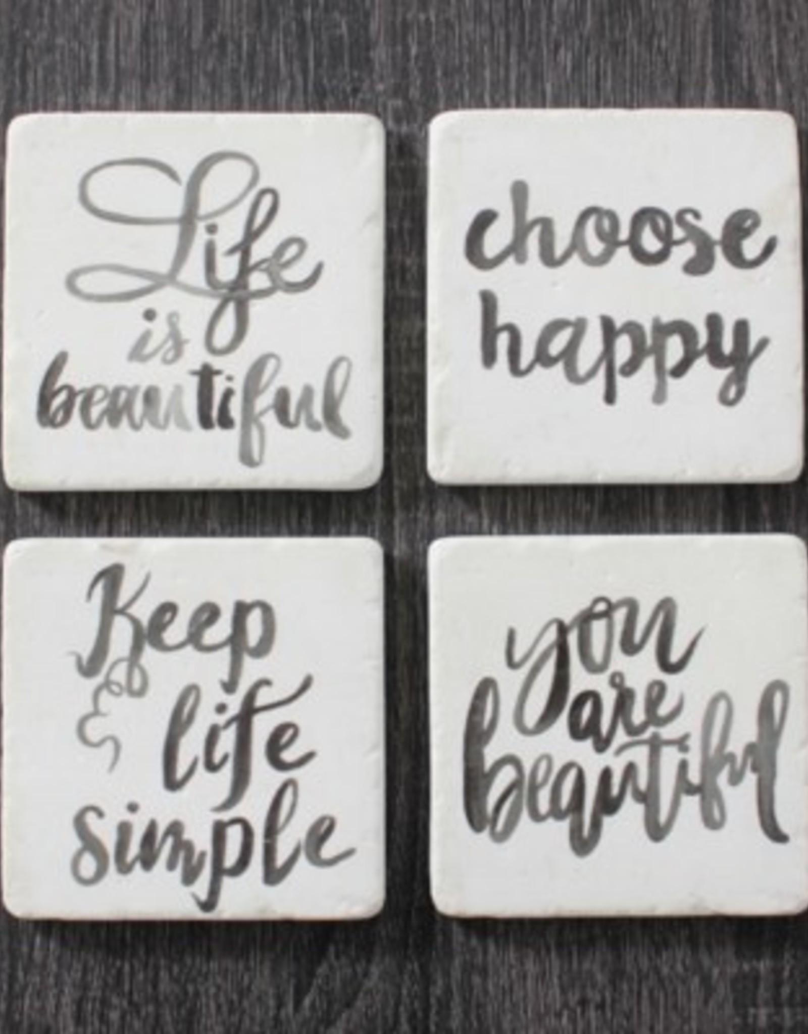Coasters CJ Life is Beautiful