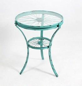 CJ End Table Apollo Turquoise LG