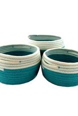 Nostalgia Basket Nostalgia Storage Turquoise Large 728-031