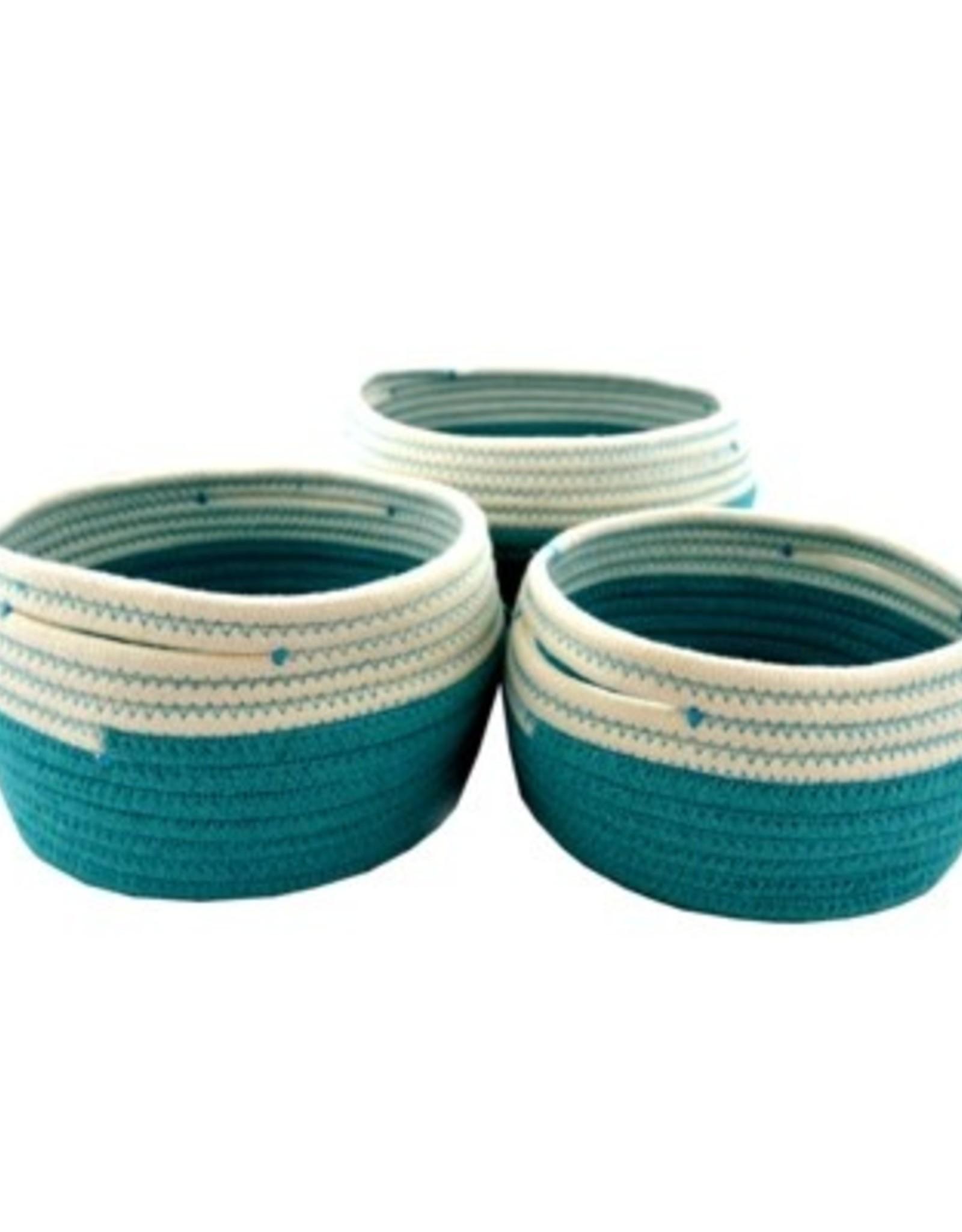 Nostalgia Basket Nostalgia Storage Turquoise Medium 709-084
