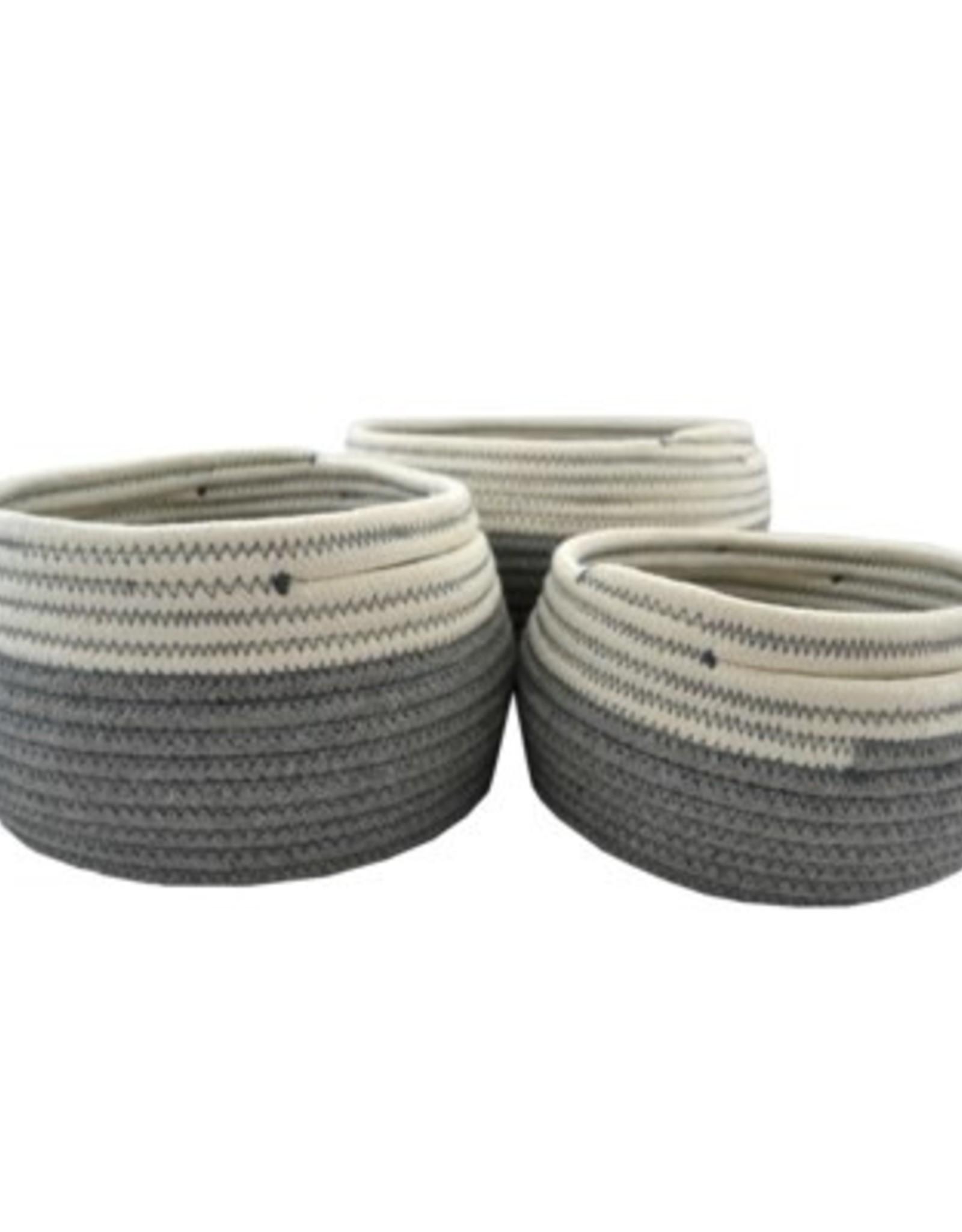 Nostalgia Basket Nostalgia Storage Grey Medium 683-100
