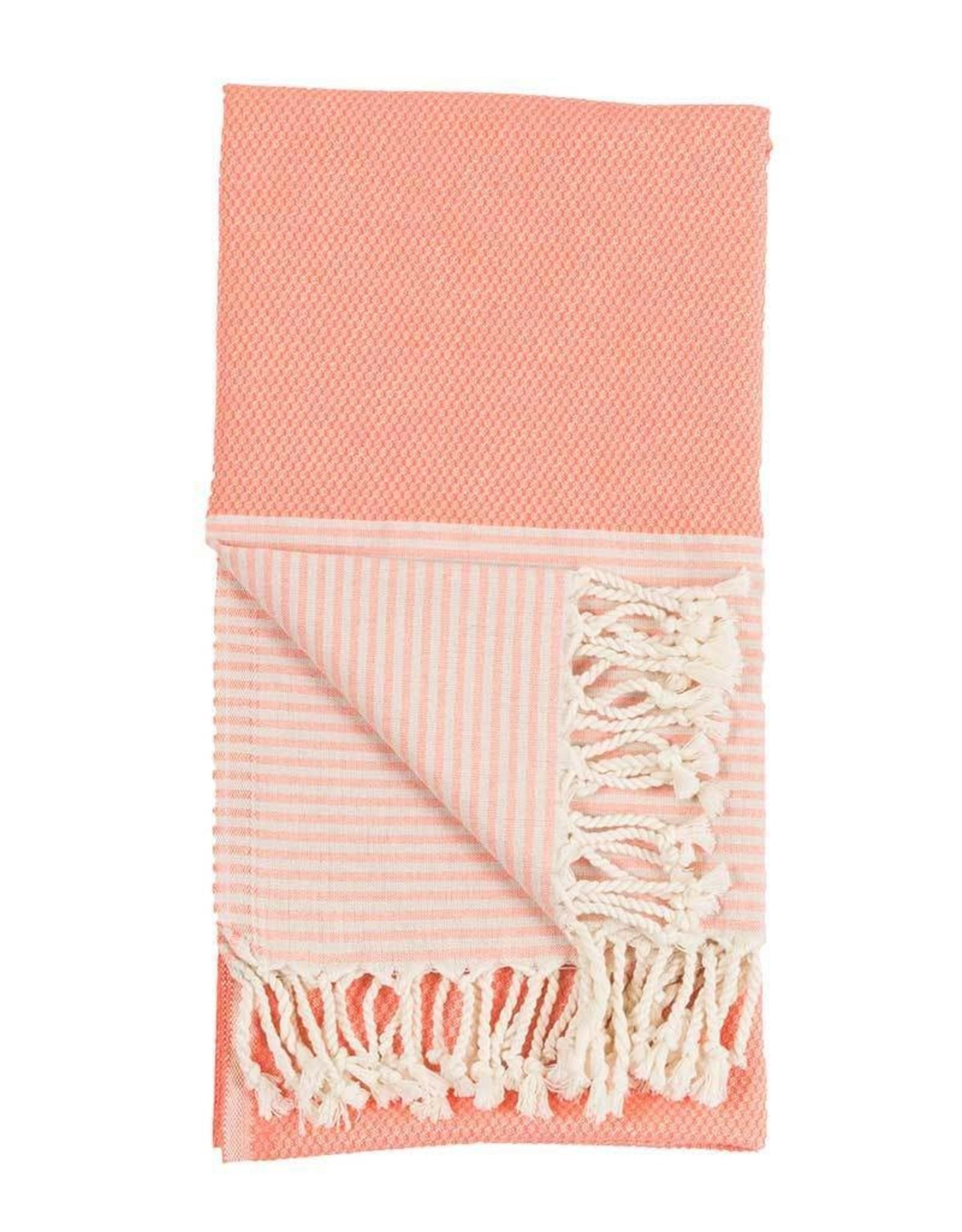Pokoloko Turkish Towel Pokoloko Patek Coral TTP10