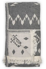 Pokoloko Turkish Towel Pokoloko Atlas Black TTAT5