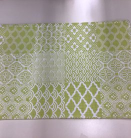 Placemat ADV  Green Cloth S/2