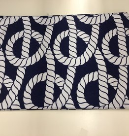Placemat CC Nautical Rope Navy S/2