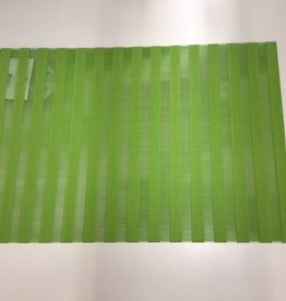Placemat Harman Vinyl Green Stripe S/2