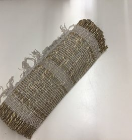 Table Runner Harman Woven  Bali 13 x 72 White 1818723