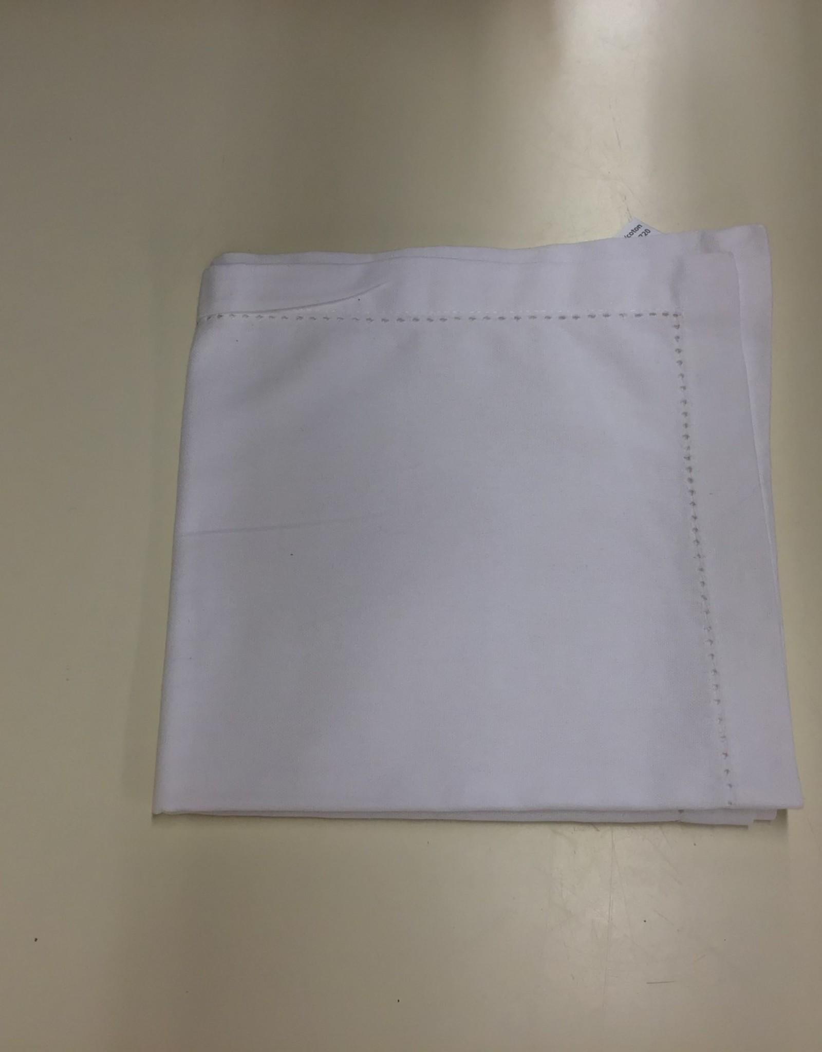 Napkins CC Solid White S/2