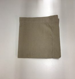 Napkins CC Solid Taupe S/2