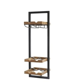 LH Imports LH D-Bodhi Wall Shelves Type D Wine Rack  DBA94