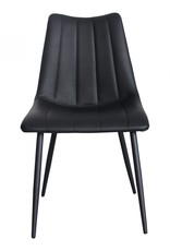 Moes Home Collection Moes Alibi Dining Chair Matte Black-M2