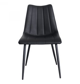 Moes Home Collection Moes Alibi Dining Chair Matte Black-M2 UU-1022-02