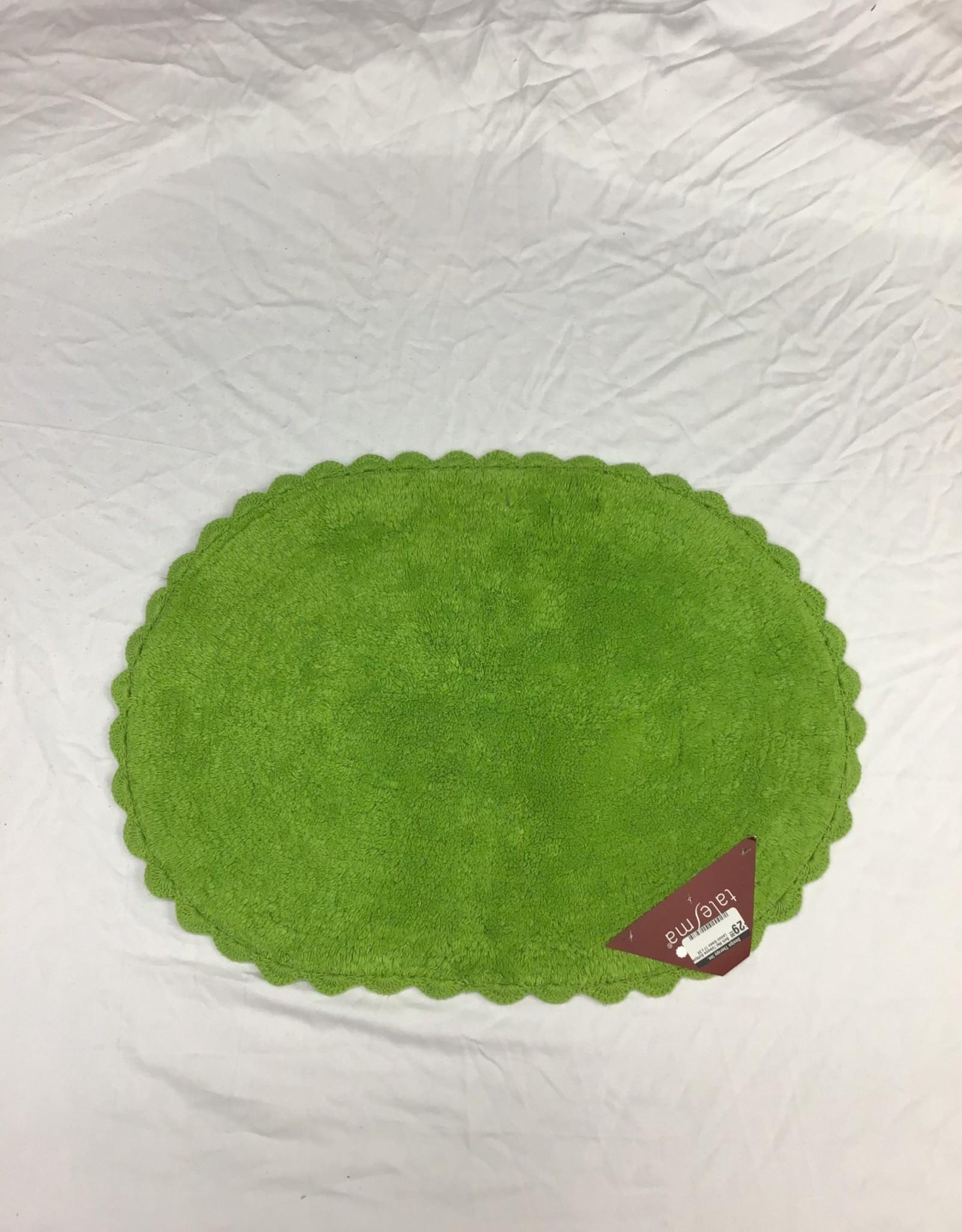 Intermark Bath Mat Talesma Antique Lemon Green 17 x 24
