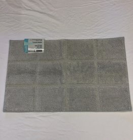 Bath Mat Harman Microfiber Grey 20 x 32