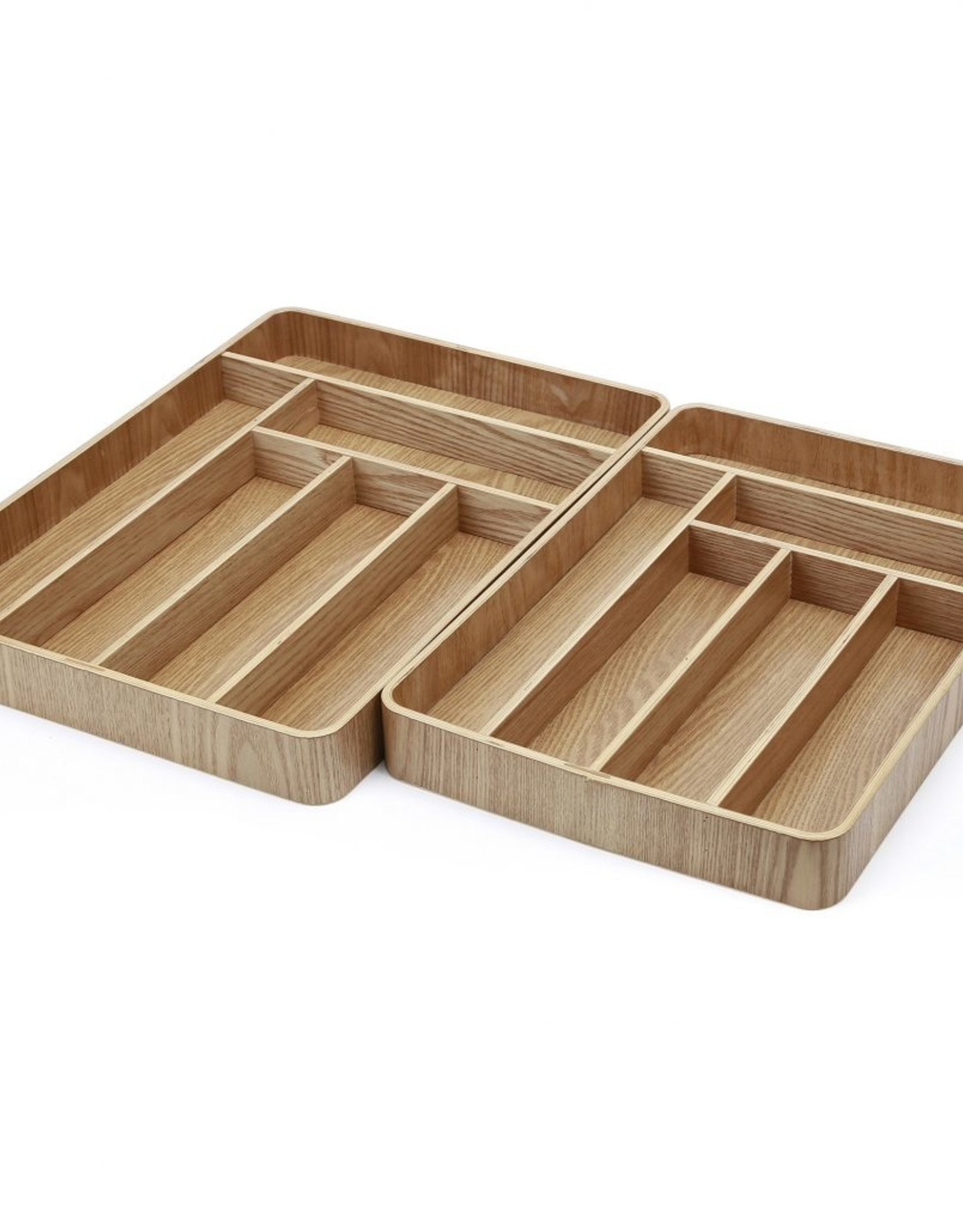 Cathay Tray Cathay Bentwood Cutlery 14.5 x 10 10-2514