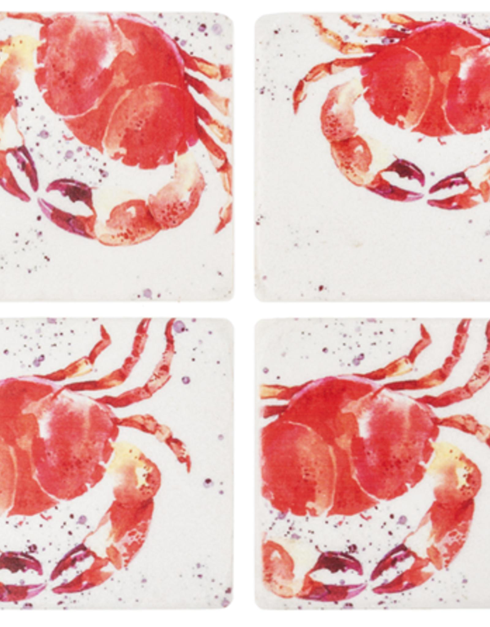 Coasters Ganz Crab  S/4