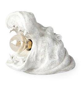 Mercana Lamp Mercana Henry White Hippo 67939