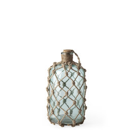 Mercana Bottle Mercana SM Jute Wrapped Aqua 67293