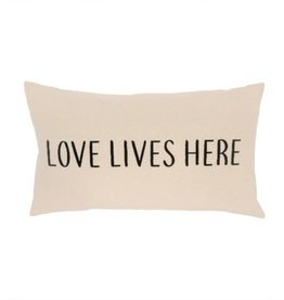 Indaba Cushions Indaba Love Lives Here 21 x 12