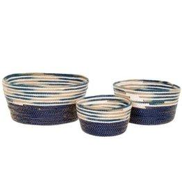 Indaba Basket Indaba Cyprus M Blue