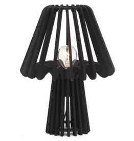 Lamp  Bovi Calpe Wood Table Black