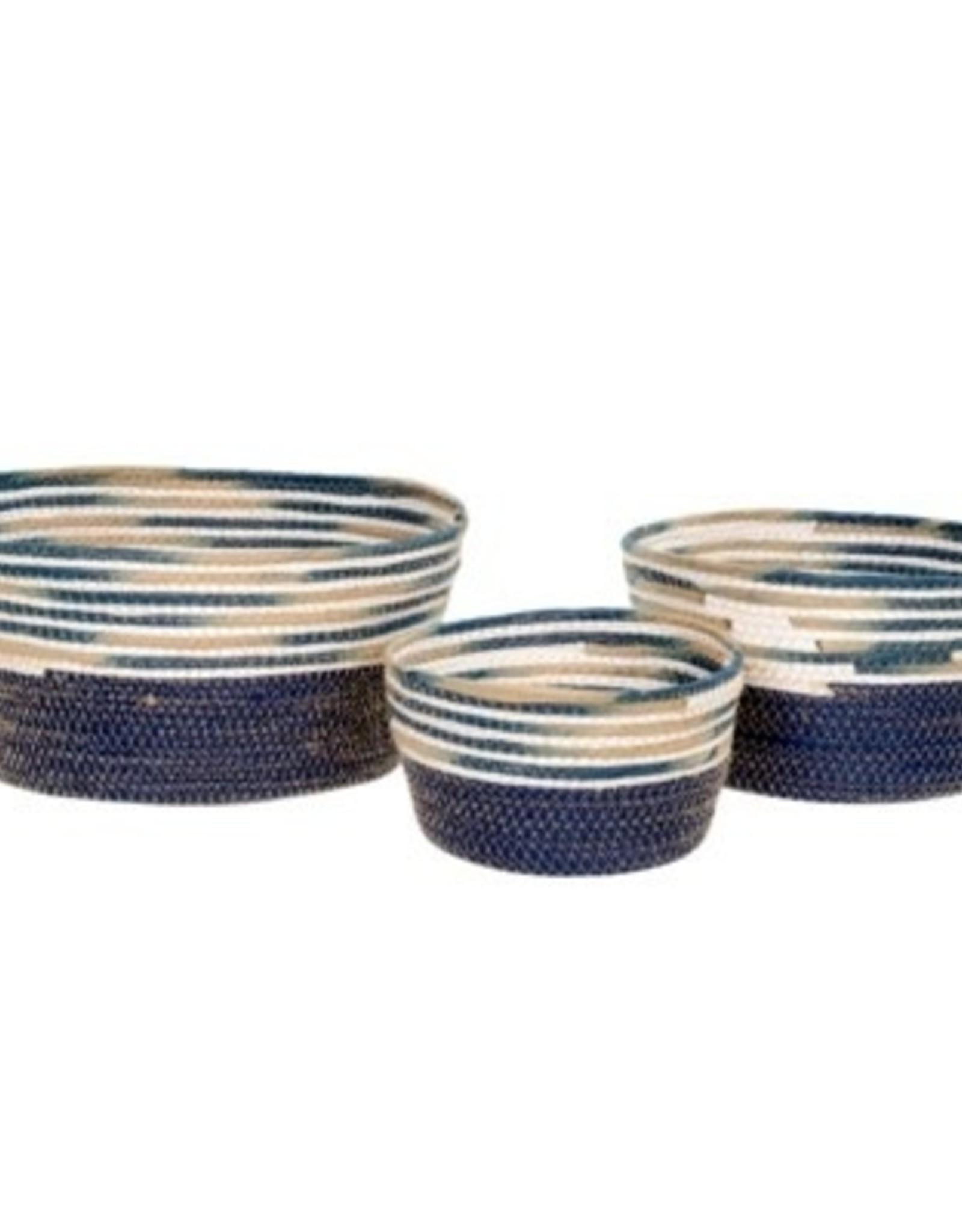 Indaba Basket Indaba Cyprus S Blue