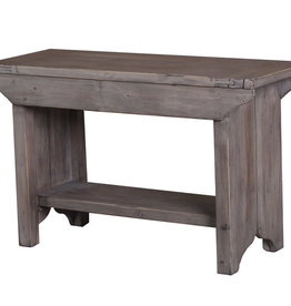 LH Imports LH Lifestyle Small Bench Sundried LS034-SD