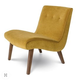Style In Form SIF Fifi Occasional Chair Mustard