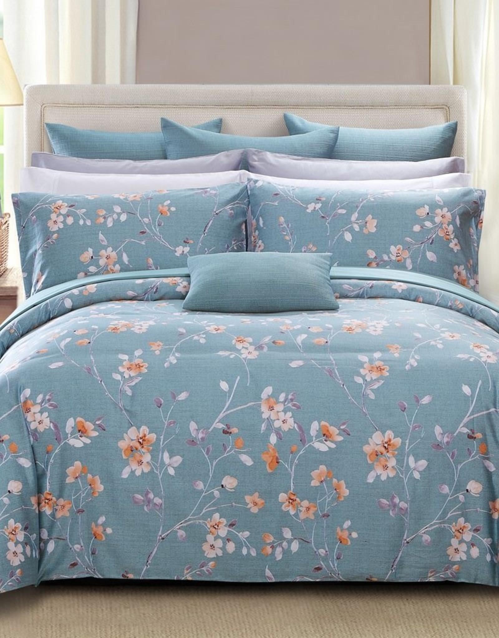 Daniadown Duvet Set Daniadown Sage Queen w / Pillow Cases**