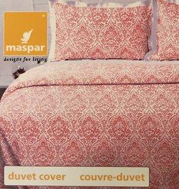 Duvet Set Maspar Aura Coral King w/ Shams