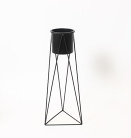 Planter CJ Pot On Triangle Stand Medium