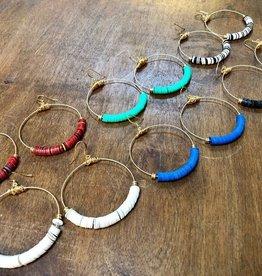 Jewelry Ear Ring Hoop Restrung