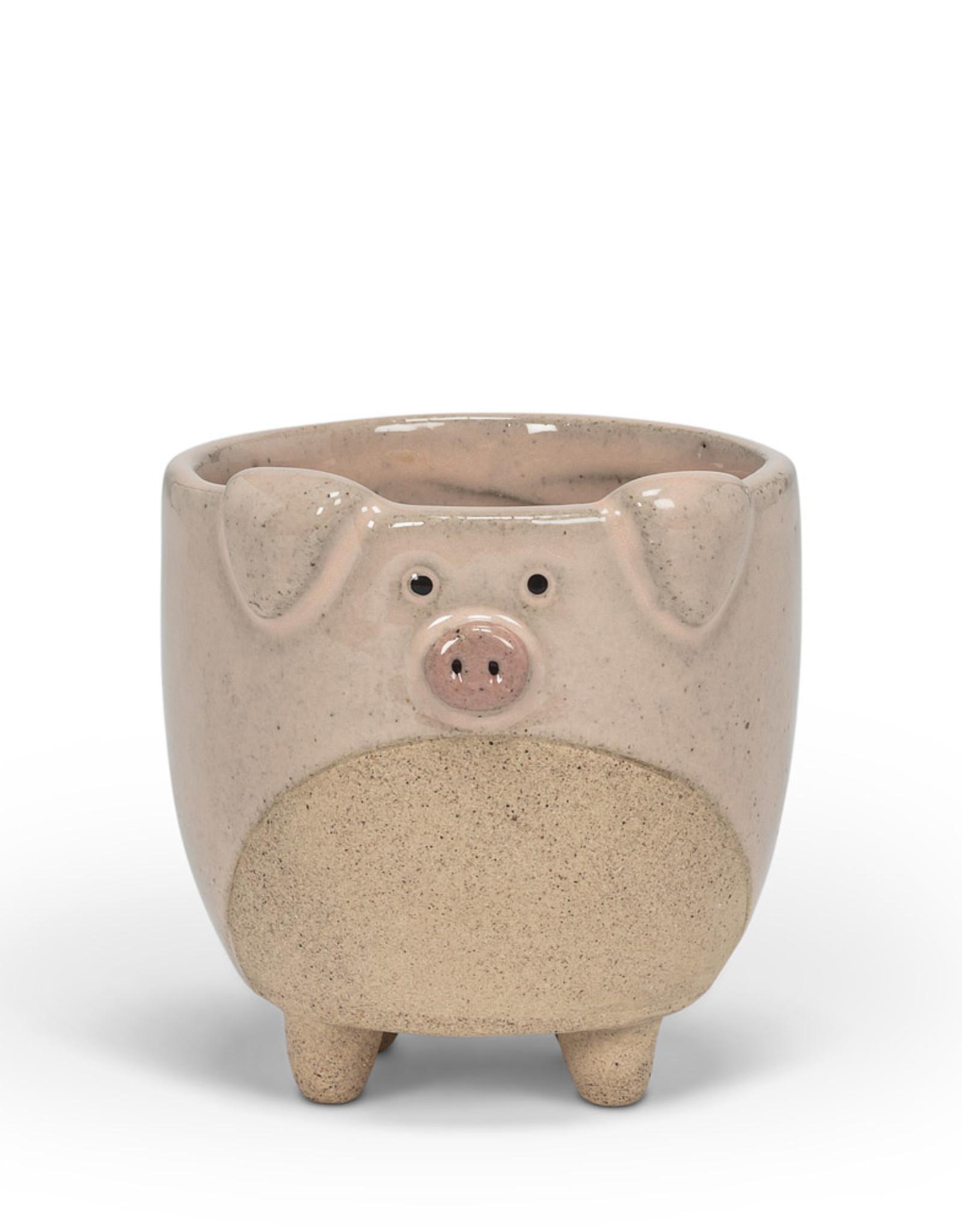 Planter Abbott Pig On Legs Small