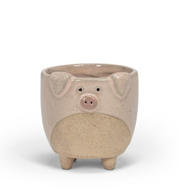 Planter Abbott Pig On Legs Small