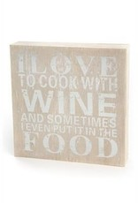 Signs PC I Love Wine Natural 5x5