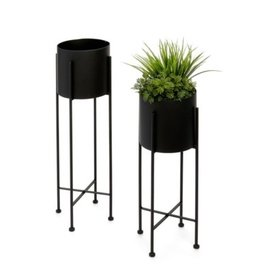 Planter PC Iron Black SM