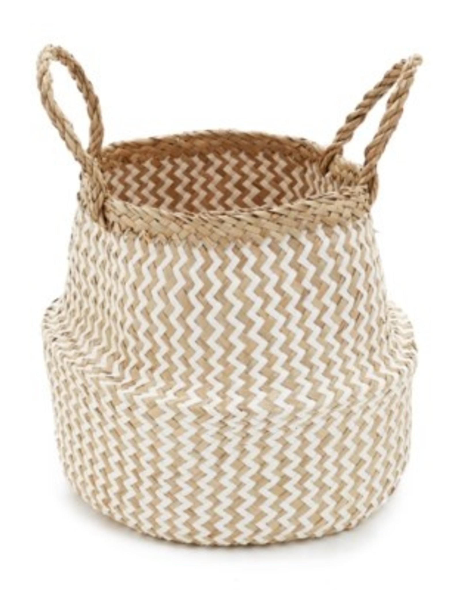 Basket PC Chevron Seagrass